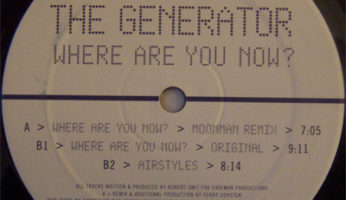 #900 The Generator – Where Are You Now ? (Moonman Rmx)