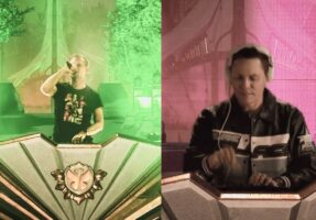 Armin van Buuren and VER:WEST have illuminated the first digital edition of Tomorrowland !